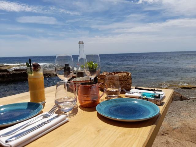 Votre électricien GVB a terminé l'installation de la Tortù plage à Boulouris!